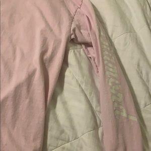 Pink long sleeve Diamond shirt
